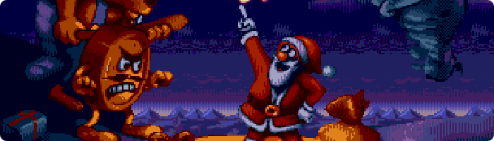 Daze Before Christmas - Megadrive