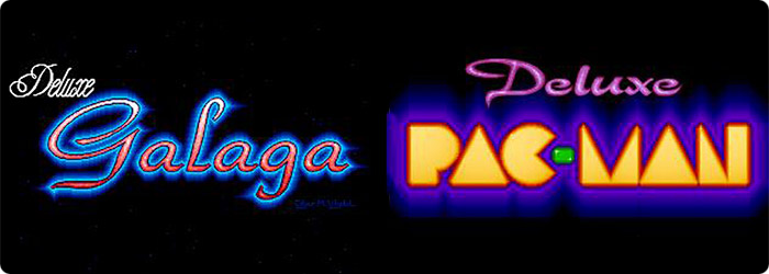 Deluxe Pac-Man & Deluxe Galaga