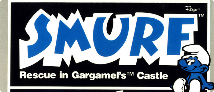 Smurf Rescue In Gargamel's Castle - Atari 2600